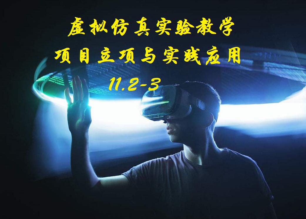 11.2虚拟仿真实验教学